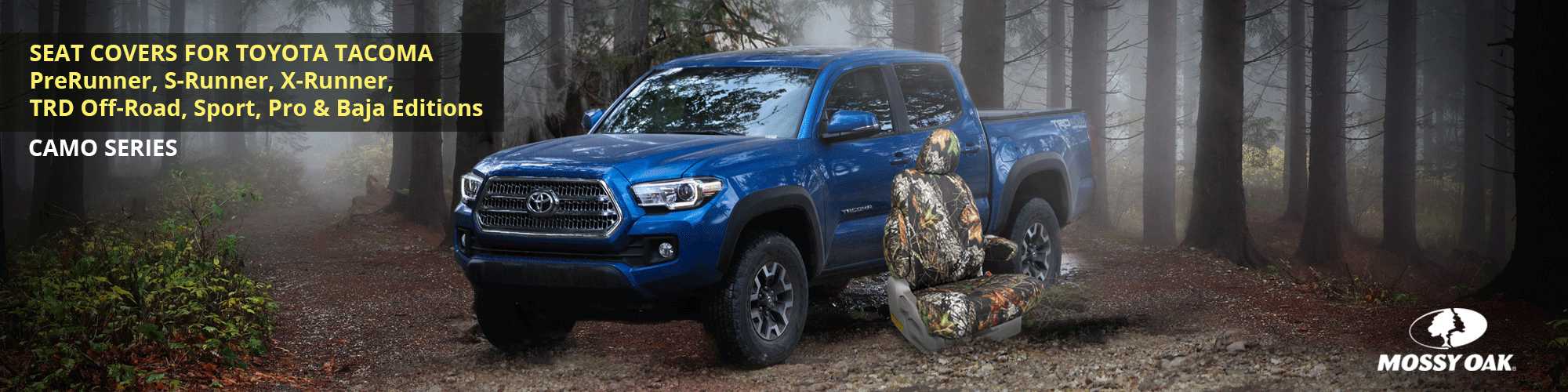Toyota Tacoma Custom Seat Covers | Toyota Pickup Truck Seat Covers