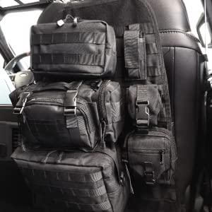 tactical bag, organizer bag, seat back organizer