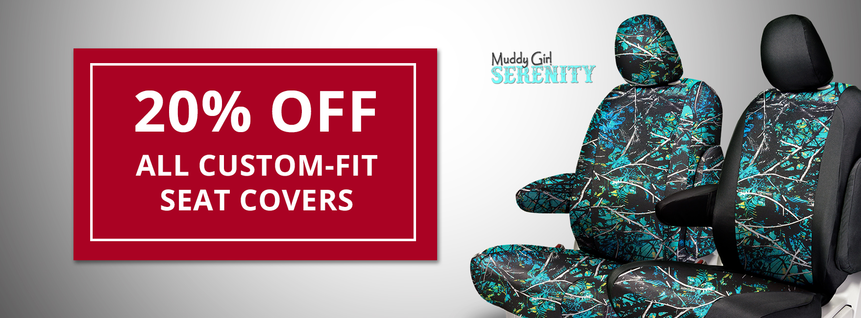 20% off all NW custom-fit seat covers
