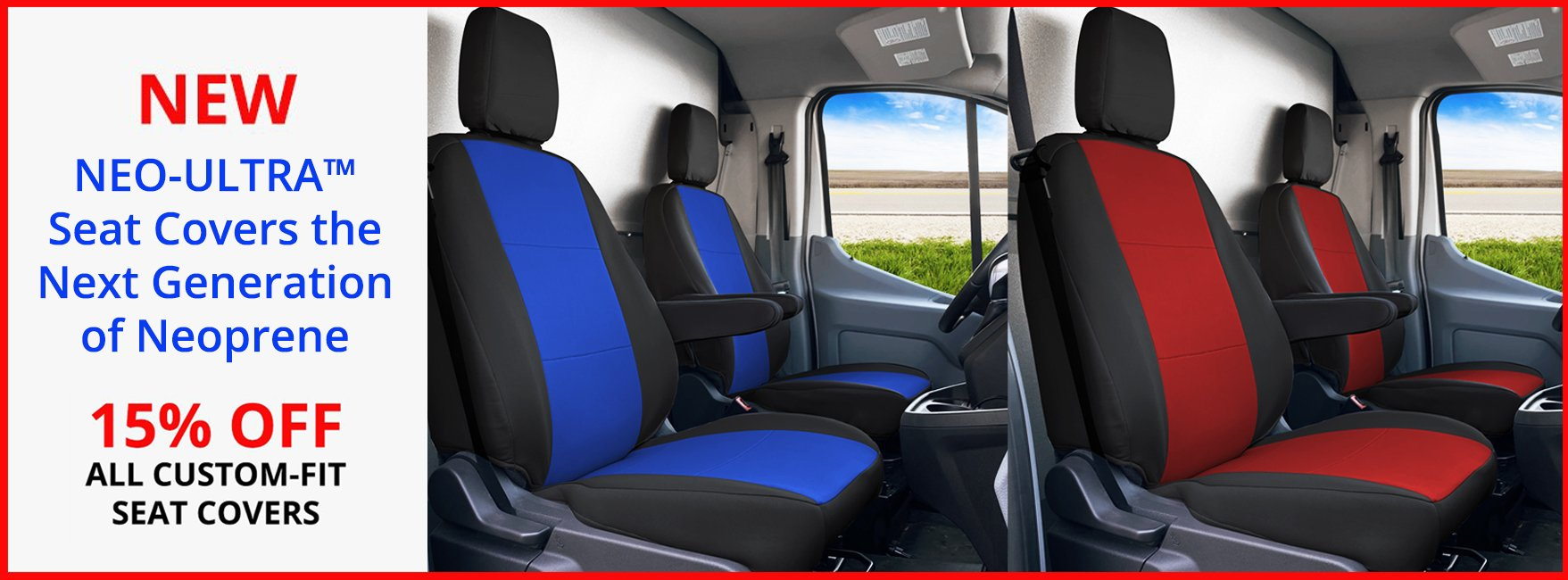 NEO-ULTRA™  Seat Covers the Next Generation of Neoprene