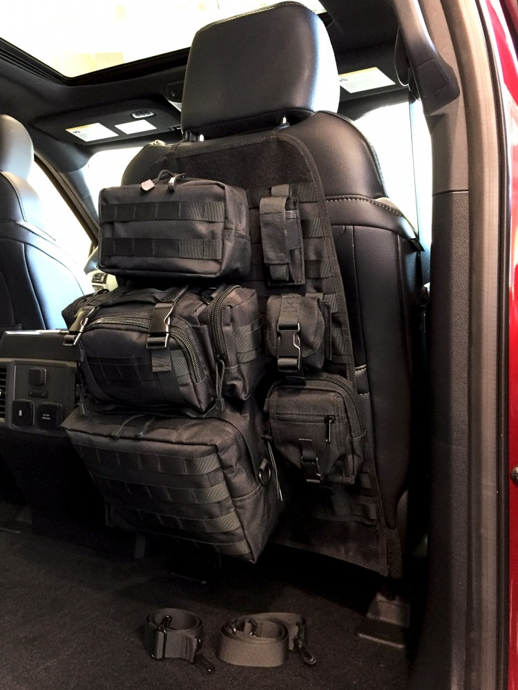 Mojave Tactical Seat Back Organizer