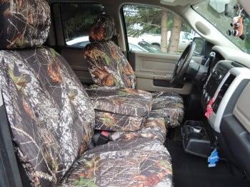 Lovin' My New Mossy Oak Camo Seat Covers!