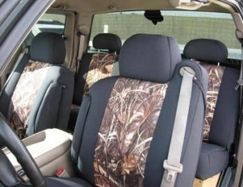 Realtree Max-4 Sport Custom Seat Covers!