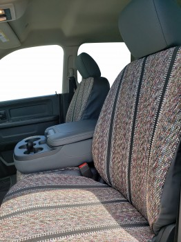 2017 Ram Outlaw Saddle Blanket Custom-fit Seat Covers