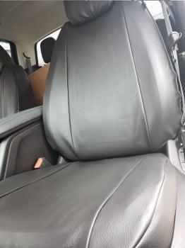 Black Vinyl Custom Seat Covers For My 2018 Chevy Colorado