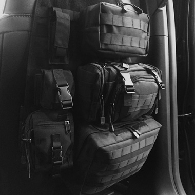 Mojave™ Tactical Seat Back Organizer | FREE SHIPPING